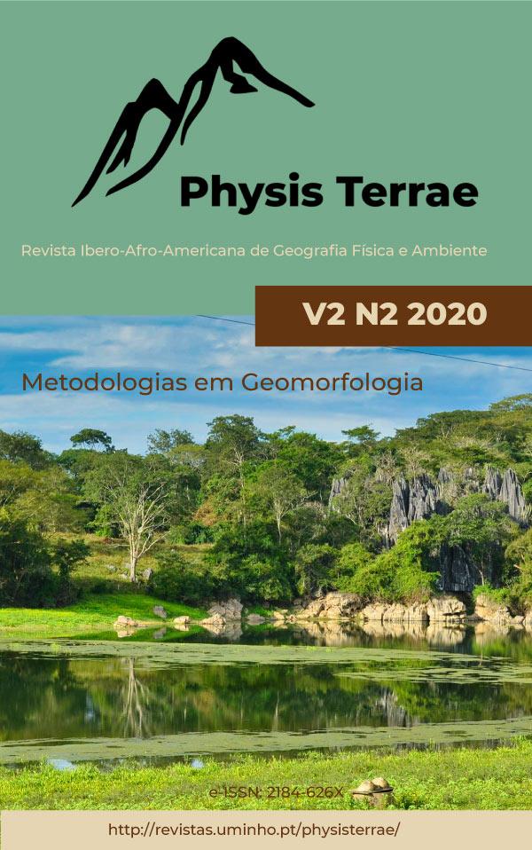 Ver Vol. 2 N.º 2 (2020): Metodologias em Geomorfologia